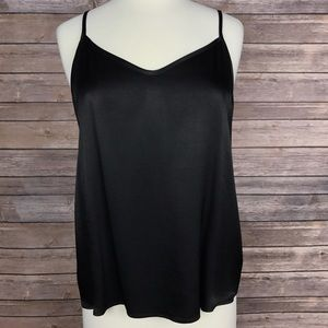 DREW Tops - {DREW} Black Sexy Camisole Tank Blouse, NWT, $156