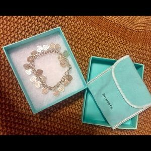 Tiffany & Co Multi Heart Tag Bracelet