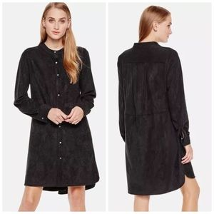 Two by Vince Camuto Dresses & Skirts - TWO by VINCE CAMUTO FAUX SUEDE SHIRTDRESS DRESS