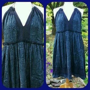 HP Anna Sui TATTERED Jacquard apron Dress