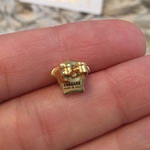 7e4ce6098 Versace Jewelry | Nwb Gold Medusa Stud Earrings Small | Poshmark