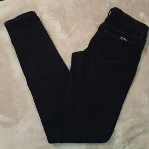 JUST USA Ultra Skinny Jean in Smokey Black