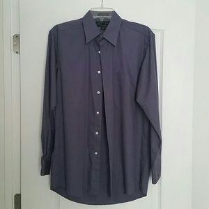 Alexander Julian  Other - Man's Plum Dress Shirt -  Sz. M  (15 x 32/33)