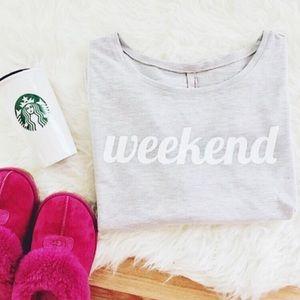SoShelbie Sweaters - 🎉HP🎉 Weekend Crewneck Sweater 🍃