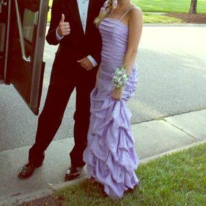 Dresses & Skirts - Dillard's Purple prom dress 2-4