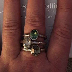 Jessica Elliot Jewelry - JESSICA ELLIOT Swarovski round solitaire rings