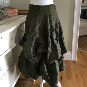 Dresses & Skirts - SALE! Hunter Green Steampunk Skirt