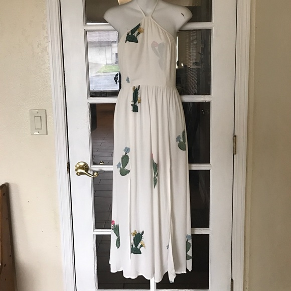 af19f65b6400 Wildfox Dresses | Cactus Flower Collection Back Tie Dress | Poshmark