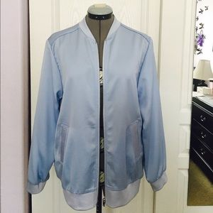 Brand new Topshop satin/light bomber jacket