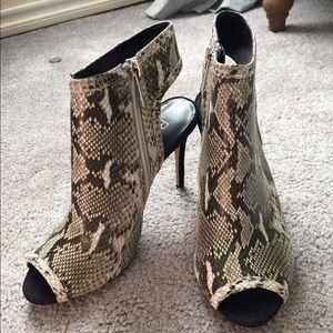 Raye Snake Skin Heels