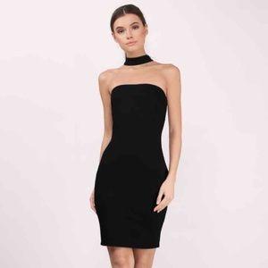 Bare Necessities Dresses & Skirts - BNWT BARE NECESSITIES CHOKER BLACK MIDI DRESS
