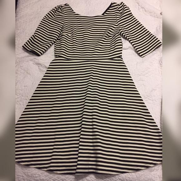 b3340f740a3 NWT Pixley striped fit   flare dress