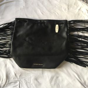 Victoria's Secret Handbags - Victoria's Secret black backpack