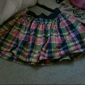 Plaid skirt by gilly and hicks