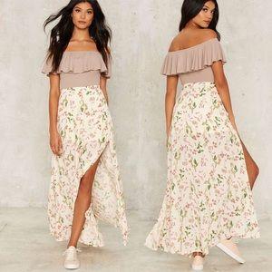 English Garden Maxi Skirt