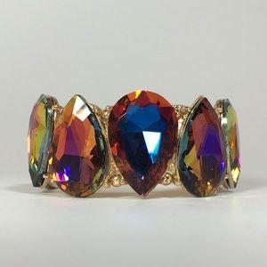 🌋Bentley Bracelet - Gold with Volcano Crystals