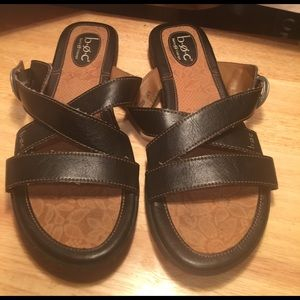 Born Shoes - B.O.C. Strappy Flats Sandals Size 10