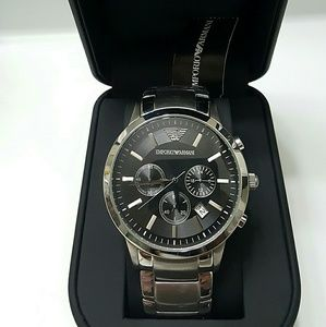 emporio Armani  Other - NWT Emporio Armani Chronograph Stainless watch
