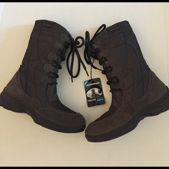 cbedafe485 Geox Shoes | Suede Girl Winter Boots Size 5 | Poshmark