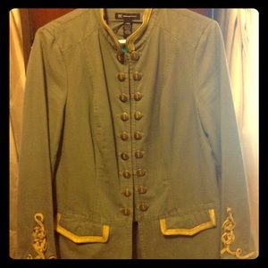 I.N.C Military Inspired Fitted Jacket