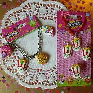 Shopkins Other - Shopkins Children's Jewelry COMBO-SAVE