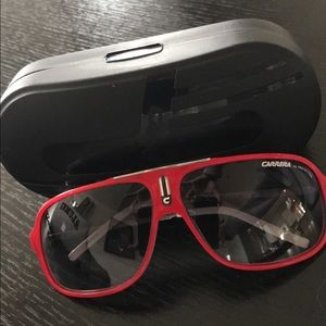 Carrera Other - Authentic Carrera by Safilo Red & White Sunglasses