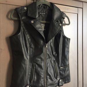 Baccini Jackets & Blazers - 🎉🎉SALE🎉🎉 Baccini Faux Leather Vest