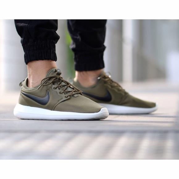best service f9f4a ceb38 Men s Nike Roshe Two Iguana Sneakers