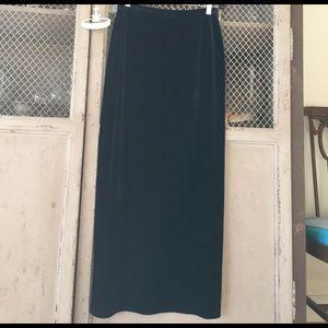 Velvet maxi skirt by Laundry! Stunner