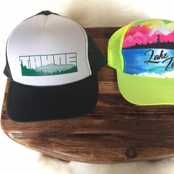 82b7e659c1e Accessories - Lake Tahoe Trucker Hats