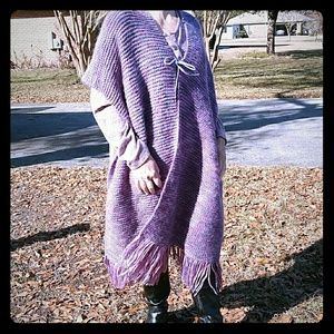 Jackets & Blazers - Beautiful Purple Cape