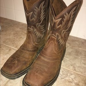 014a79da580 Ariat Sierra square toe Western Work Boot