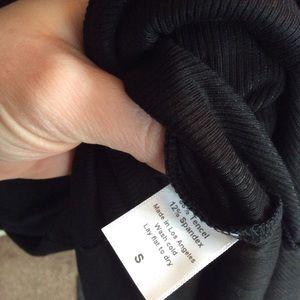 Atid Clothing Dresses - Black Scoop Back Midi Maxi Dress