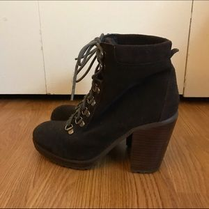 DV Dolce Vita Lace-up Booties
