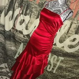 Blondie Nites Dresses & Skirts - Blondie Nights Asymmetrical Prom Dress