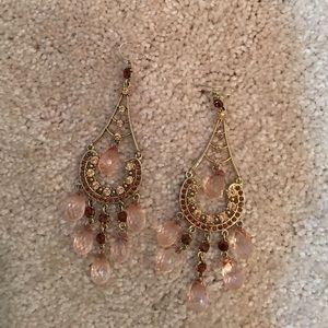 Unique Teardrop Chandelier Earrings