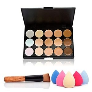 Other - 🆕3-pack Contour pallet + free brush & sponge