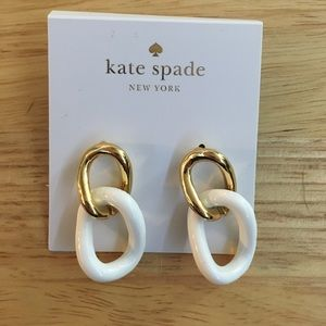 Kate Spade Link Earrings