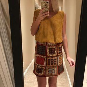 Judith March Dresses & Skirts - Patterned Skirt Dress