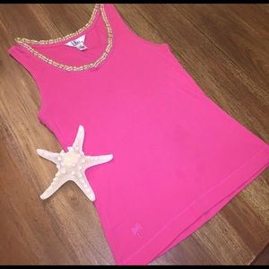 ⭐️SALE⭐️Lilly Pulitzer pink tank top