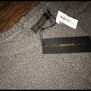 Eternal Sunshine Creations Sweaters - Soft Gray Knit Sweater