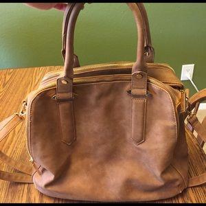 Handbags - Brown handbag with Crossbody strap