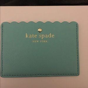 Kate spade cape drive scallop card case