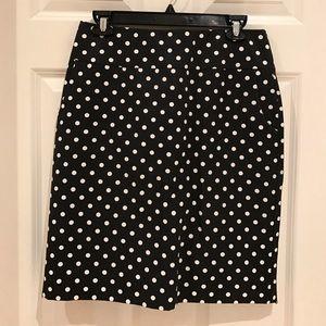Merona Dresses & Skirts - Polka Dot Pencil Skirt