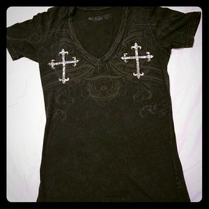Sinful Tops - Sinful V-neck