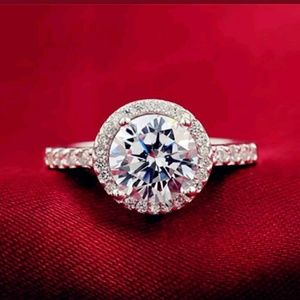 Jewelry - A Beautiful Halo Engagement Ring/Right Hand Ring