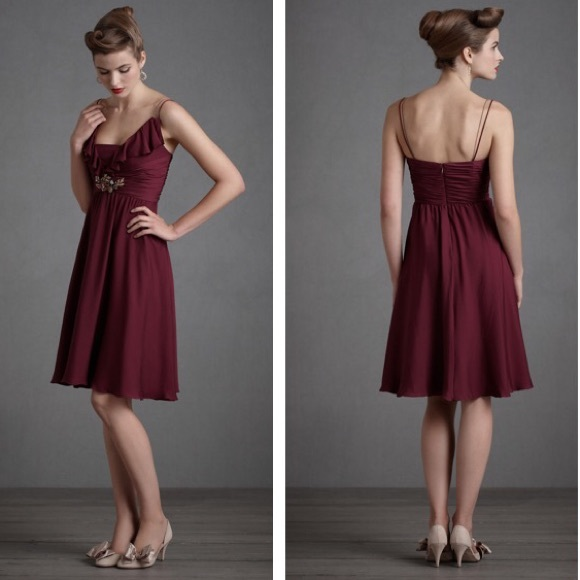 bb73aca63d8 BHLDN Anthropologie Berry Couplet Dress ALL Sizes