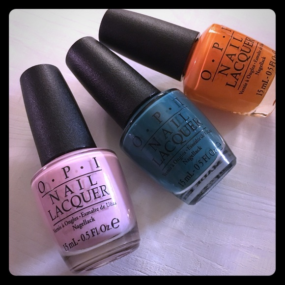Opi Other | Fiji Complete Collection Wulta Exclusives | Poshmark