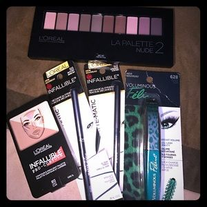 L'Oreal Other - L'Oreal Products - Liner, Mascara, Palette,All NEW