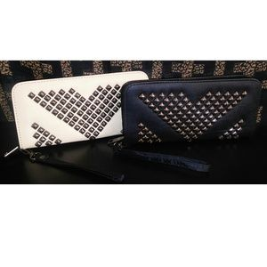 Bags for Riches Handbags - Studded Wallets